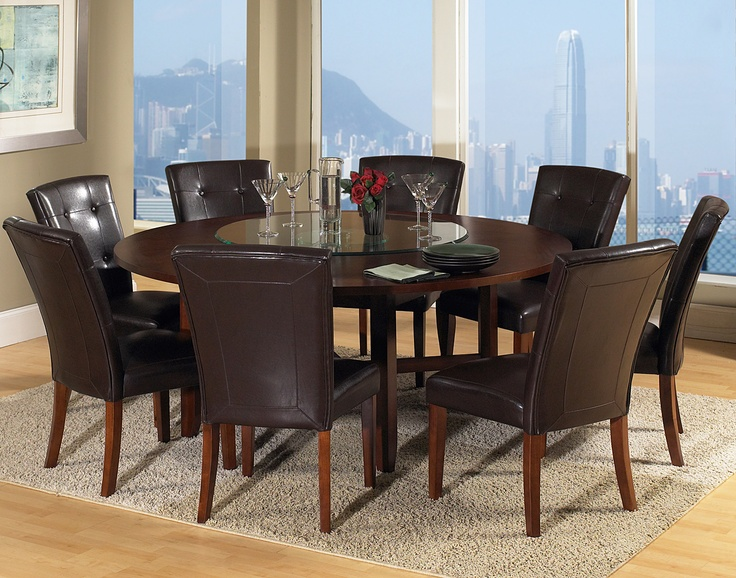 Creative of Modern Round Dining Table For 8 The Large Round Dining Table For 8 Dreamehome