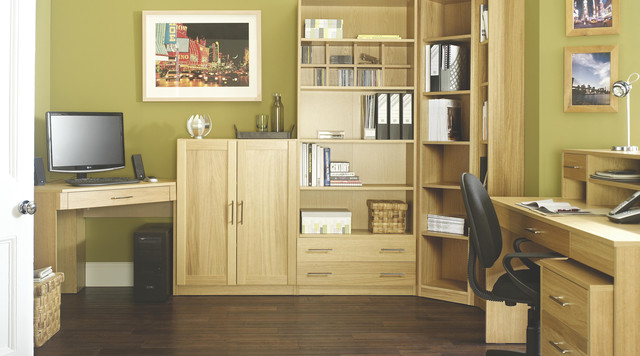 Creative of Modular Home Office Furniture Contemporary Oak Modular Office Furniture Contemporary Home
