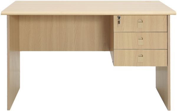 Creative of Office Table With Drawers Aft Office Table With 1 Side Drawer Beige Souq Uae