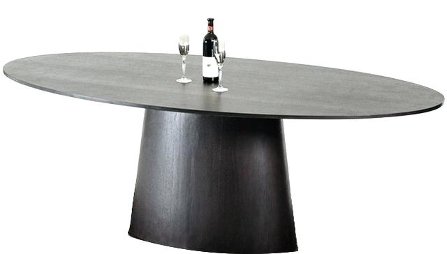 Creative of Oval Modern Dining Table Black Oval Dining Table Mitventuresco