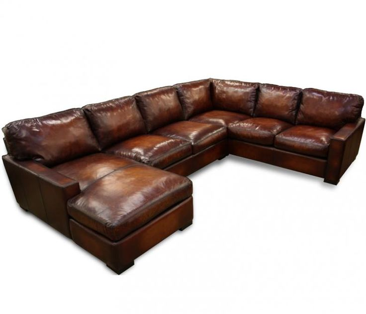 Creative of Oversized Leather Sectional With Chaise Best 25 Leather Sectional Sofas Ideas On Pinterest Leather