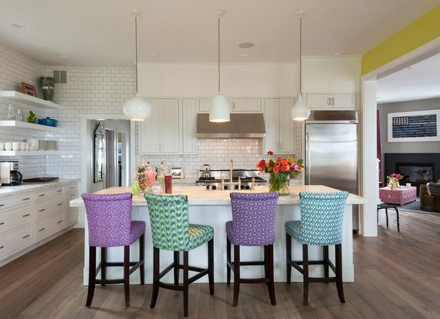 Creative of Padded Kitchen Chairs Upholstered Kitchen Chairs Houzz