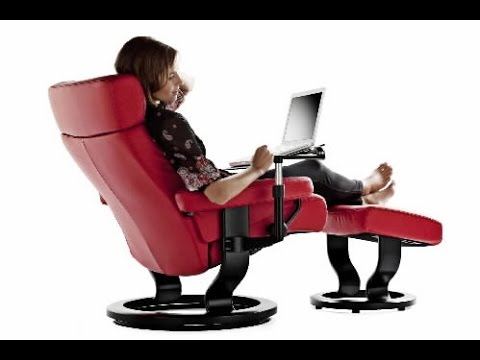 Creative of Reclining Office Chair Reclining Office Chair Youtube