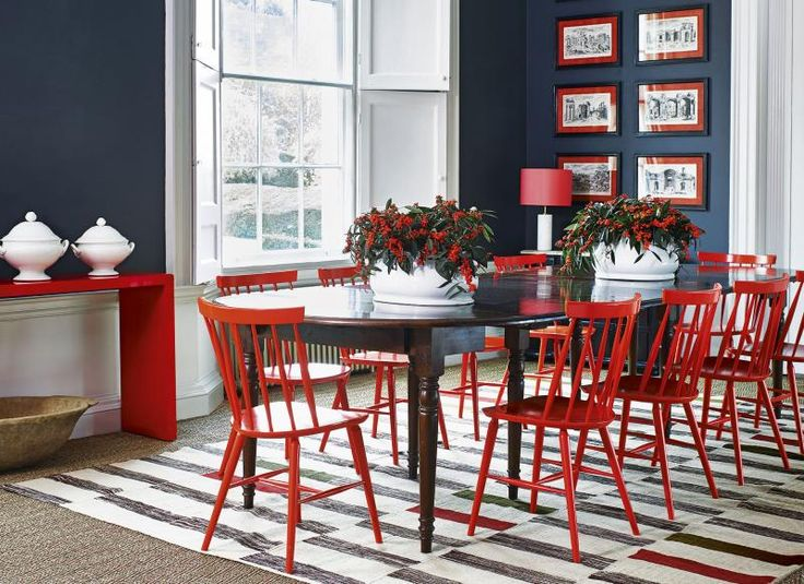 Creative of Red Dining Room Chairs Best 25 Red Dining Chairs Ideas On Pinterest Red Dining Rooms
