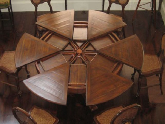 Creative of Round Dining Table With Leaf Dining Room Tables With Leaves Home Improvement Ideas