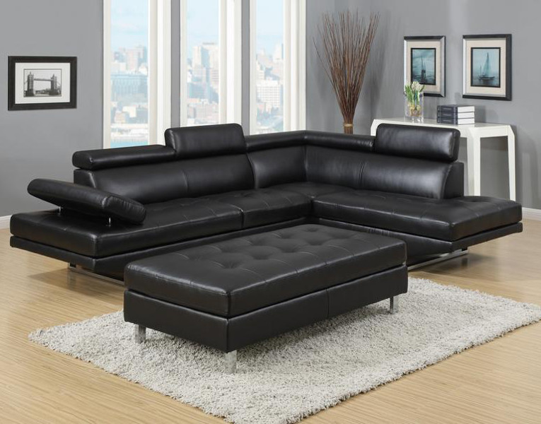 Creative of Sectional Sofa With Ottoman Ibiza Sectional And Ottoman Set Furniture Distribution Center
