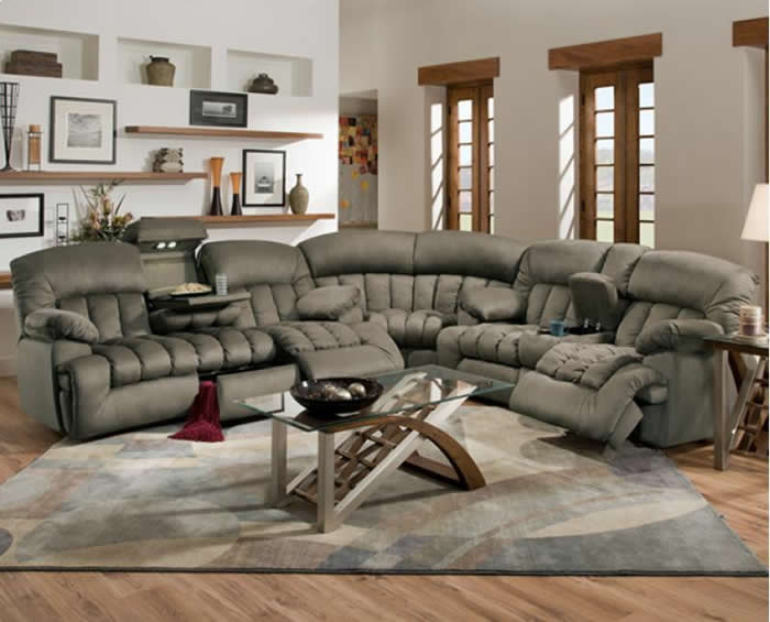 Creative of Sectional Sofas With Recliners Good Sectional Sofas With Recliners 11 Contemporary Sofa Inspiration