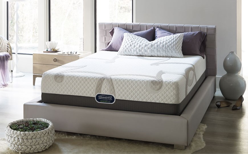 Creative of Simmons Memory Foam Mattress Beautyrest Memory Foam Plus Mattresses The Mattress Factory