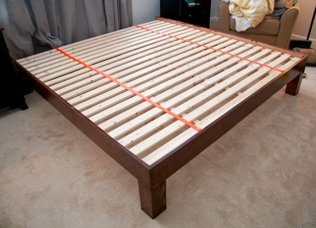 Creative of Slat Bed Frame King Best 25 King Platform Bed Frame Ideas On Pinterest King Size