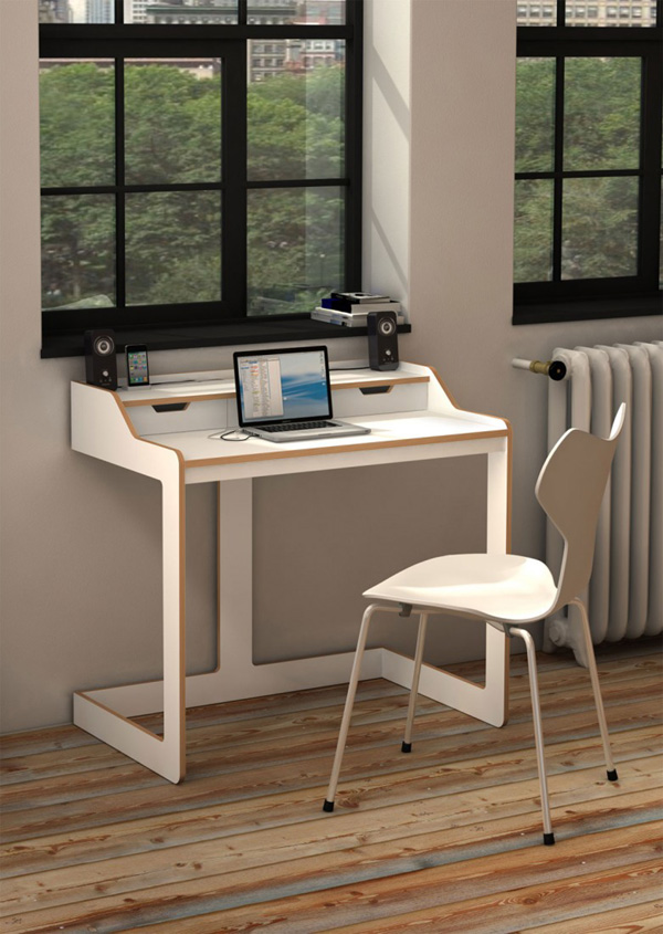 Creative of Small Desk And Chair Awesome Desk Design For Small Space Homesfeed Office Desk Small