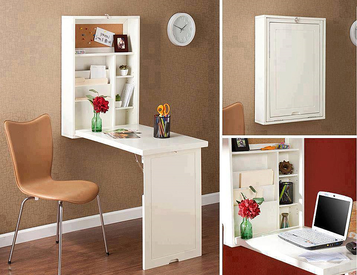 Creative of Small Desk With Storage Small Space Desk Storage Review And Photo