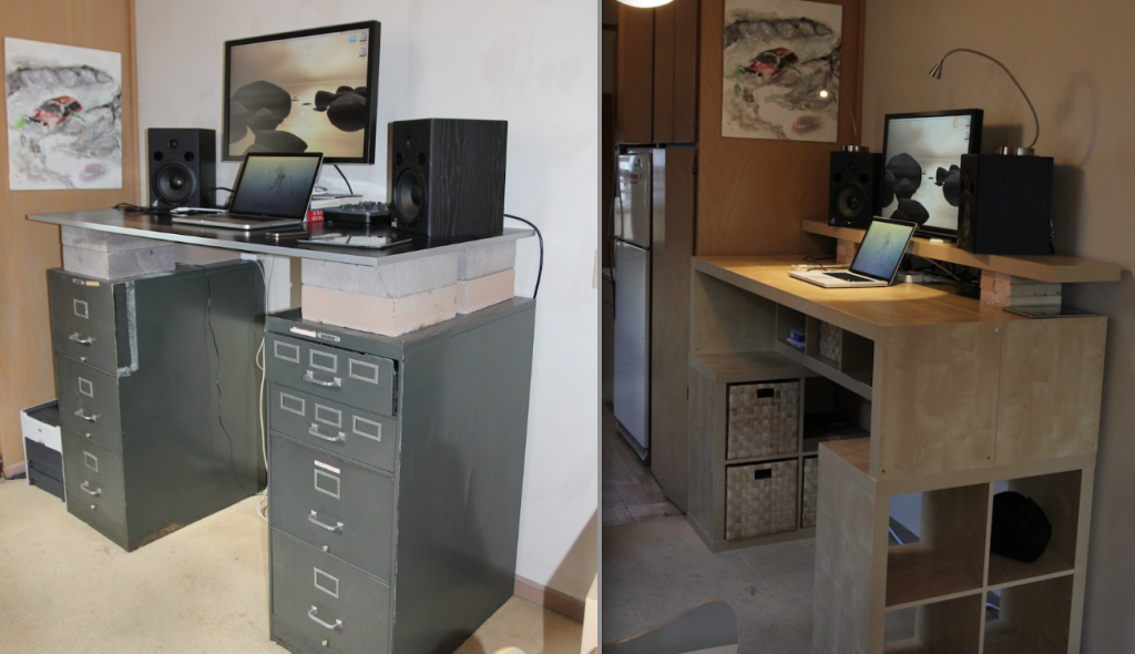 Creative of Standing Desk Hack Standing Desks For Creative Professionals The Beat A Blog