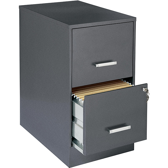 Creative of Steel Filing Cabinet Office Designs Metallic Charcoal Colored 2 Drawer Steel File