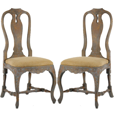 Creative of Vintage Dining Chairs Distressed Antique Dining Chair Belle Escape
