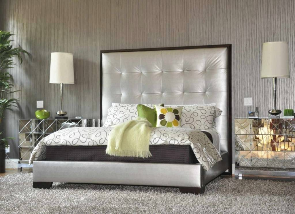 Creative of White And Brown Nightstand Mirrored Bedroom Furniture Rass Frames Mirrored Pointed Legs High
