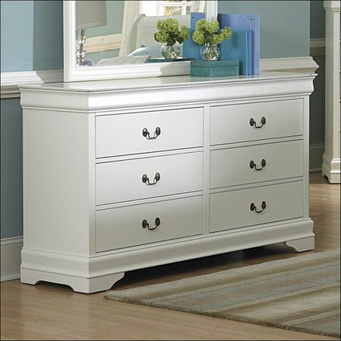 Creative of White Dresser With Brown Top Bedroom Four Drawer Dresser Walmart White And Brown Dresser