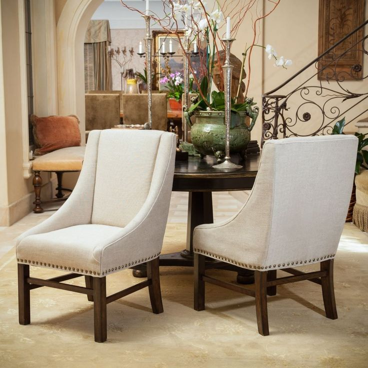 Creative of White Fabric Dining Chairs Best 25 Fabric Dining Chairs Ideas On Pinterest Mismatched