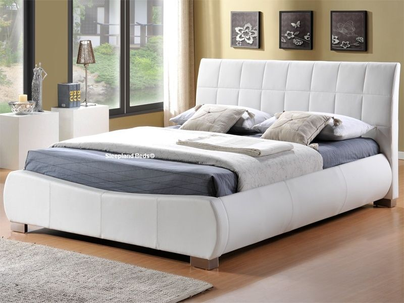 Creative of White King Size Bed King Size Bed Frames Uk Home Design Ideas