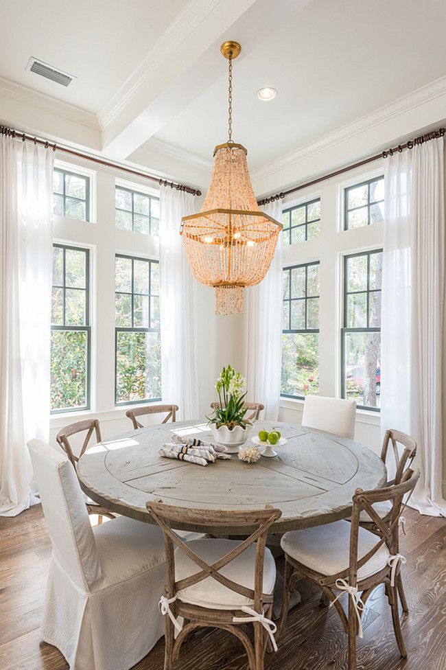 Creative of White Round Dining Table Best 25 White Round Dining Table Ideas On Pinterest Farmhouse
