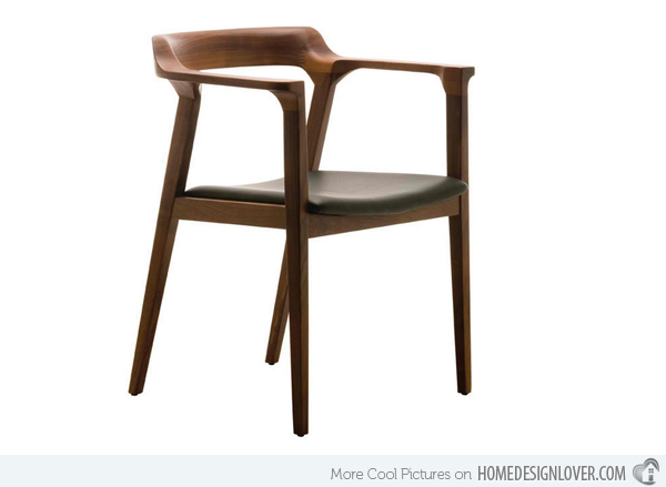 Creative of Wooden Dining Chairs 15 Sleek Contemporary Wooden Dining Chairs Home Design Lover