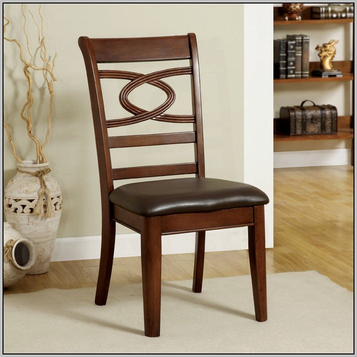 Creative of Wooden Dining Chairs With Padded Seats Oak Dining Chairs With Padded Seats Home Design Ideas
