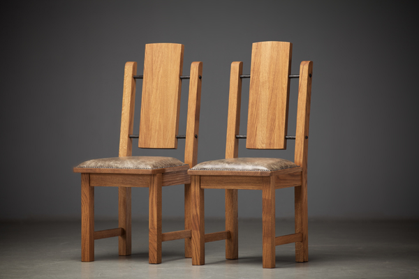 Creative of Wooden Dining Chairs With Padded Seats Reclaimed Oak Wood Dining Tables And Chairs Hand Made Rustic