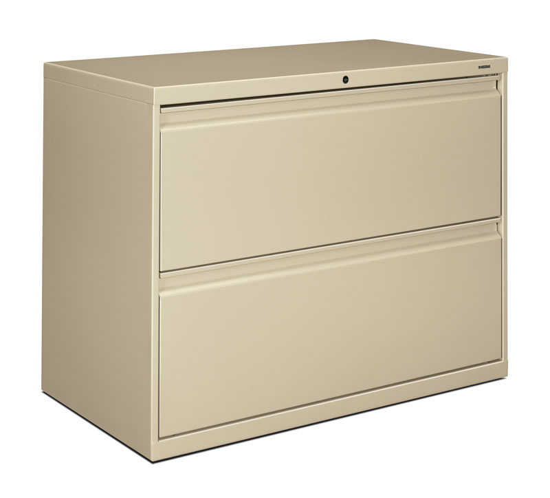 Elegant 2 Drawer Lateral File Cabinet With Lock Hon Brigade 800 Series 36 Inch 2 Drawer Lateral File Cabinet