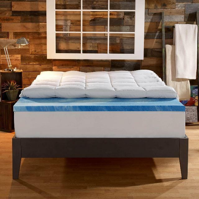 Elegant 4 Inch Memory Foam Mattress Topper Sleep Innovations 4 Inch Dual Layer Mattress Topper Review