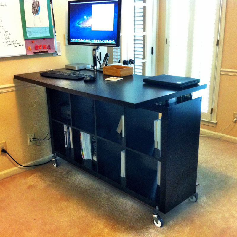 Elegant Adjustable Office Desk Ikea Working With Ikea Stand Up Desk Face Your Job Powerfully Homesfeed