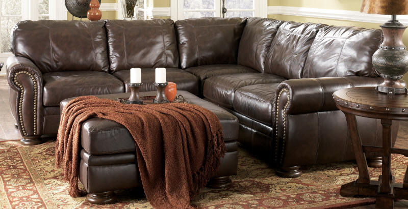 Elegant Ashley Brown Leather Sofa Ashley Brown Leather Adorable Ashley Leather Sofa Home Design Ideas