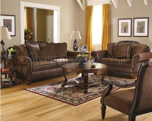 Elegant Ashley Design Signature Furniture Sofa Set Bradington Truffle 15400 Signature Design Ashley