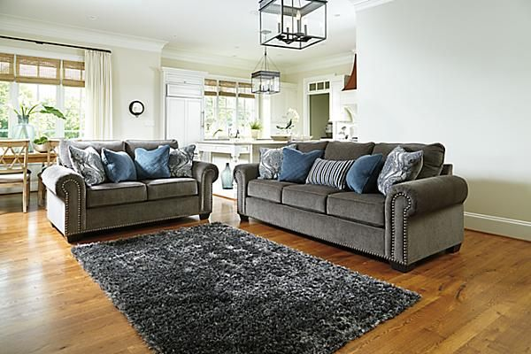 Elegant Ashley Furniture Chenille Sofa The Navasota Sofa From Ashley Furniture Homestore Afhs The