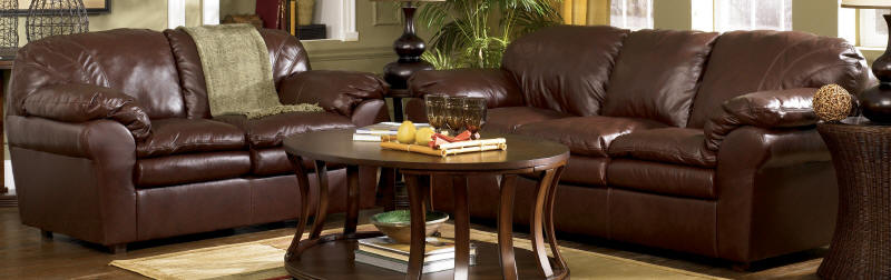 Elegant Ashley Furniture Leather Couch And Loveseat Ashley Furniture Leather Sofas Sofas