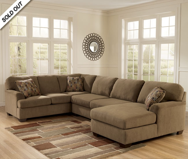 Elegant Ashley Furniture Microfiber Sectional Ashley Furniture 3 Piece Sectional Design Ideas Sofa With Chaise