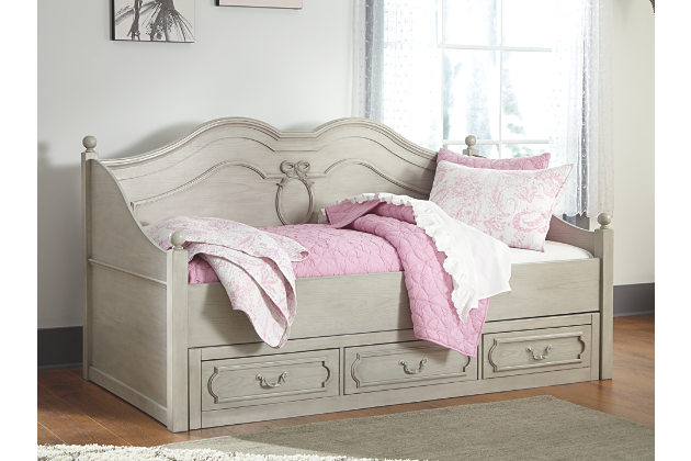 Elegant Ashley Furniture Twin Bed With Drawers Impressive Ashley Furniture Daybed Delightful Ideas Abrielle Twin
