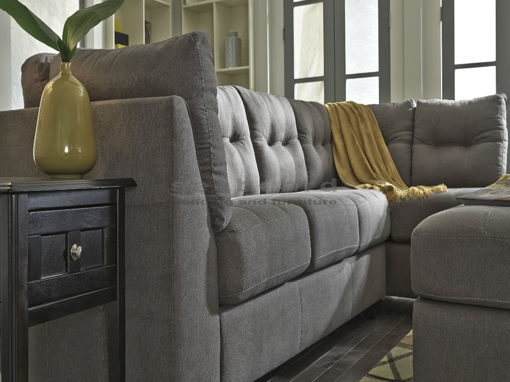 Elegant Ashley Two Piece Sectional Ashley 452 Maier Linen 2pc Sectional In 3 Colors In Myrtle Beach