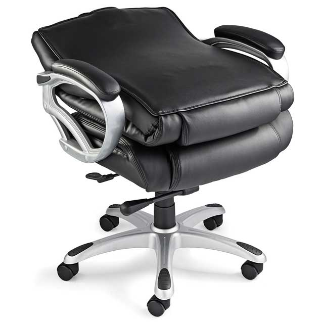 Elegant Big And Tall Office Chairs Samsonite San Mateo Big Tall Bonded Leather Office Chair 78568