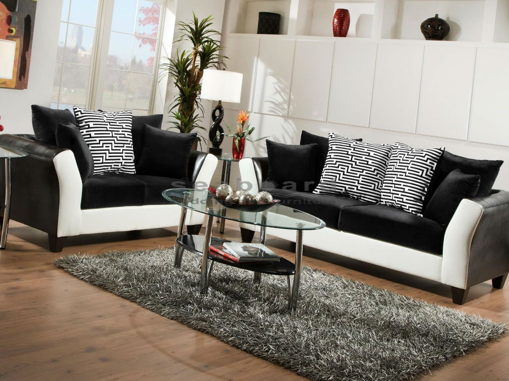Elegant Black And White Living Room Set Remarkable Ideas Black Living Room Sets Awesome And Beautiful All