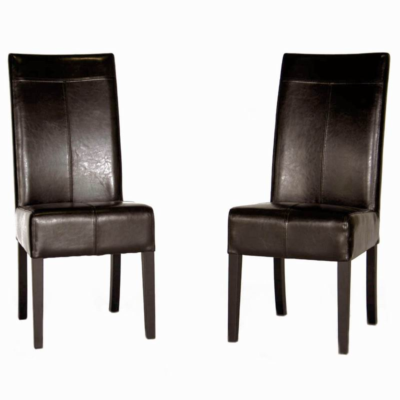 Elegant Black Leather And Wood Dining Chairs Chairs Inspiring Cheap Dining Chairs Design Amazon Dining Chair