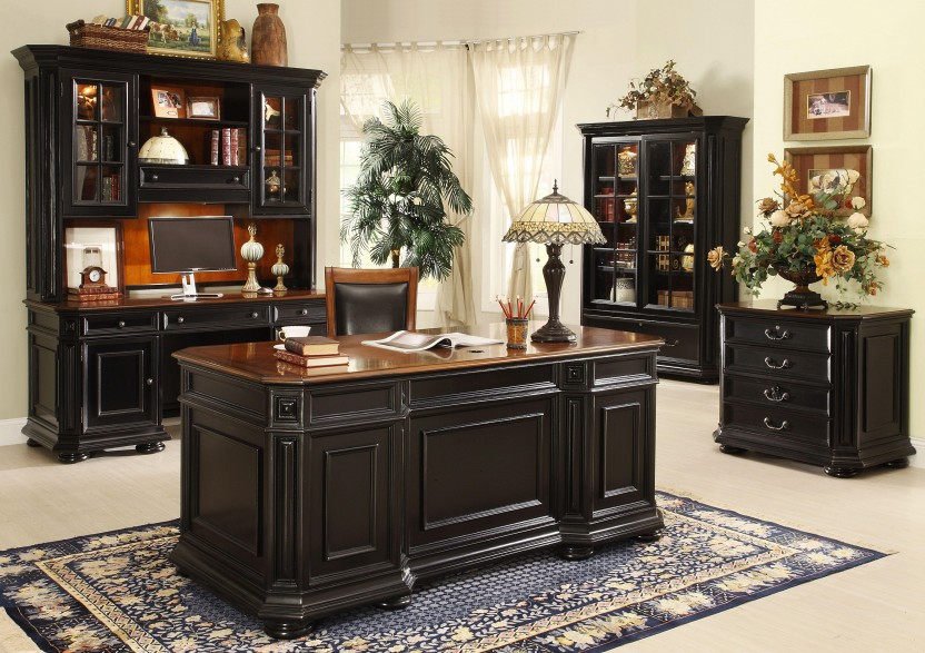 Elegant Black Office Furniture Classy Ideas Black Office Furniture Interesting 17 Best Images