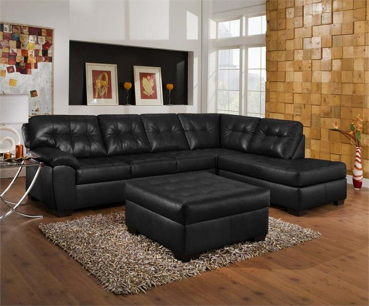 Elegant Black Sectional Sofa With Chaise Gorgeous Black Leather Sectional With Chaise 17 Best Ideas About