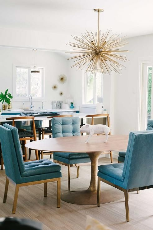 Elegant Blue Leather Dining Room Chairs Best 25 Gold Dining Rooms Ideas On Pinterest Elegant Dinning