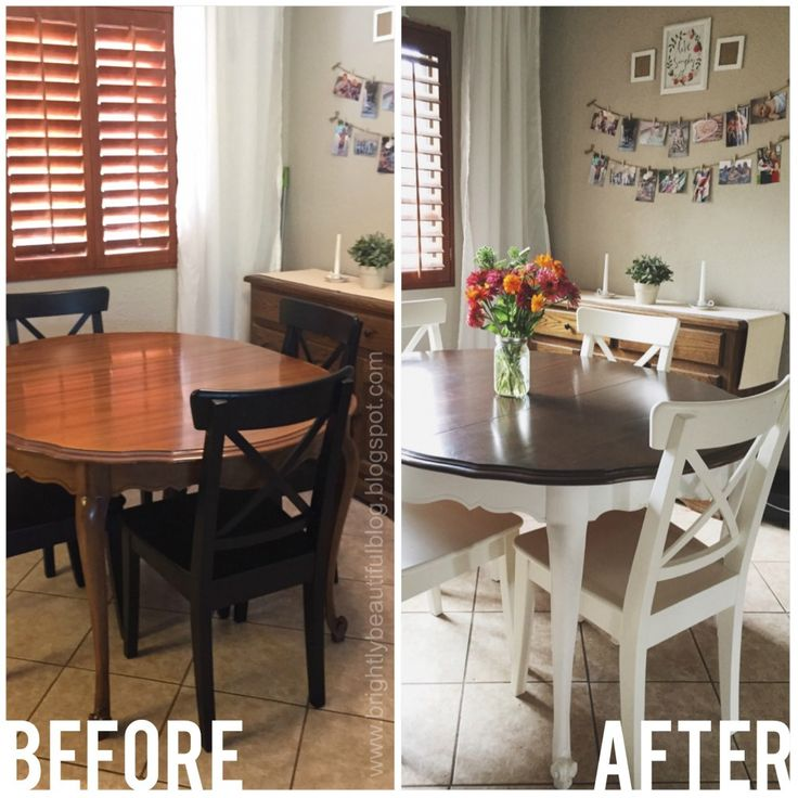 Elegant Brown And White Dining Chairs Best 25 Dining Table Redo Ideas On Pinterest Dining Table
