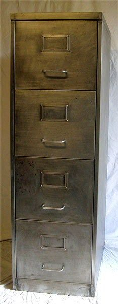 Elegant Brown Metal File Cabinet Paint Thinner On A File Cabinet Taking It Down To Its Natural