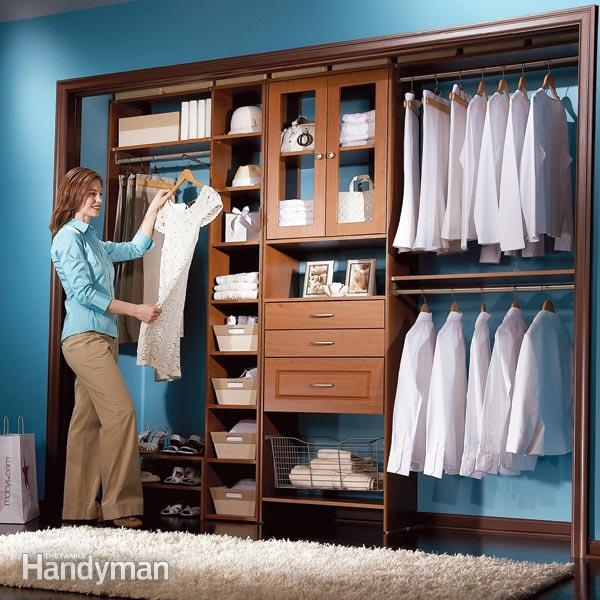 Elegant Build Your Own Custom Closet Diy Closet System Build A Low Cost Custom Closet Family Handyman
