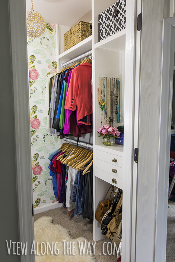 Elegant Build Your Own Custom Closet How To Build Custom Closet Shelves View Along The Way