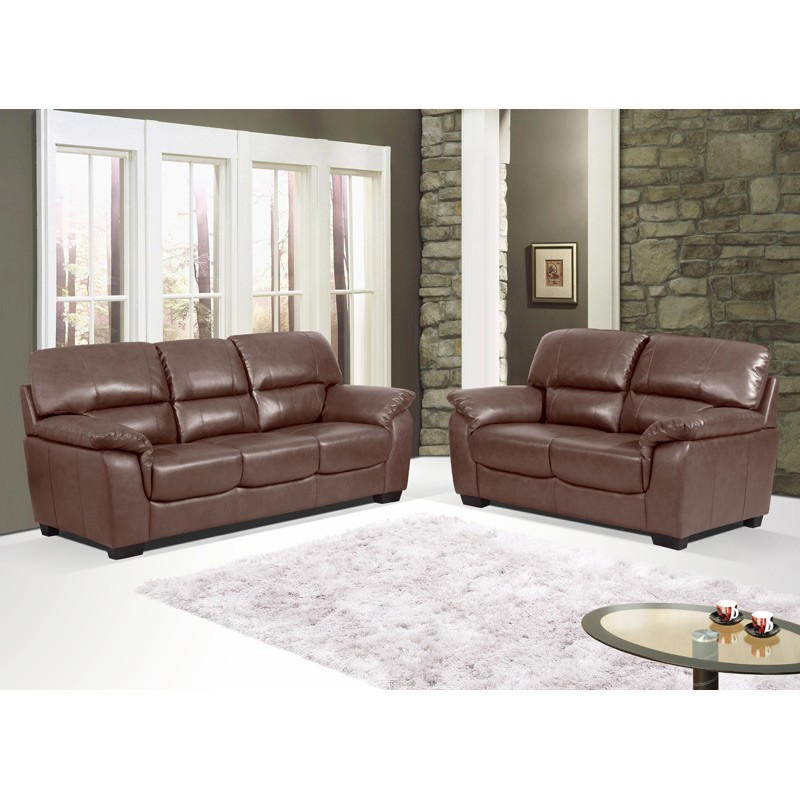 Elegant Chocolate Brown Leather Sofa Marvelous Chocolate Brown Leather Sofas Also Home Decor Ideas With