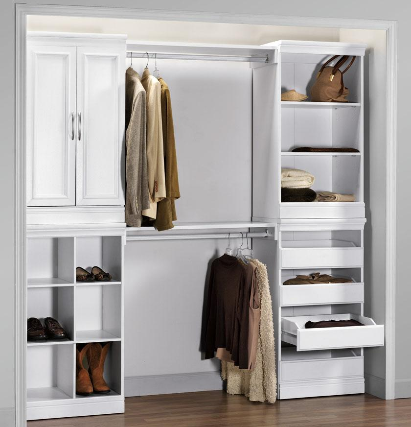 Elegant Clothes Storage Systems In Bedrooms Nice Wooden Closet Organizers With Drawers Closet Storage Systems