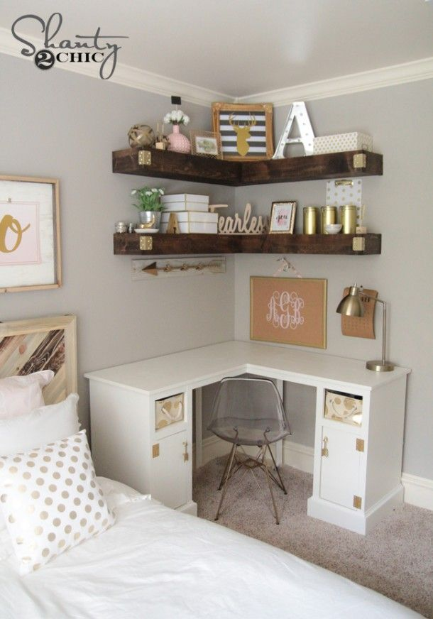 Elegant Computer Desk For Bedroom Best 25 Small Desk Bedroom Ideas On Pinterest Small Bedroom