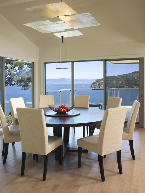 Elegant Contemporary Round Dining Table For 8 How Much Room Is Needed For A 60 Round Table With 6 Dining Chairs